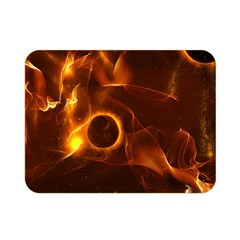 Fire And Flames In The Universe Double Sided Flano Blanket (Mini)