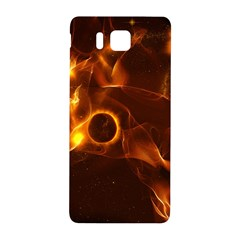Fire And Flames In The Universe Samsung Galaxy Alpha Hardshell Back Case