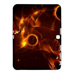 Fire And Flames In The Universe Samsung Galaxy Tab 4 (10 1 ) Hardshell Case