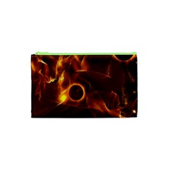 Fire And Flames In The Universe Cosmetic Bag (XS)
