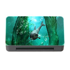 Wonderful Dolphin Memory Card Reader With Cf
