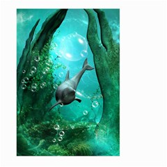 Wonderful Dolphin Large Garden Flag (Two Sides)