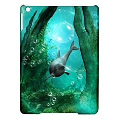 Wonderful Dolphin Ipad Air Hardshell Cases