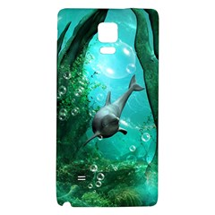 Wonderful Dolphin Galaxy Note 4 Back Case