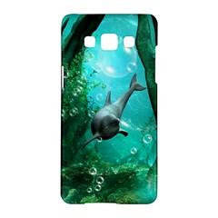 Wonderful Dolphin Samsung Galaxy A5 Hardshell Case