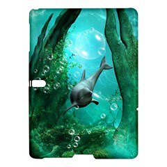 Wonderful Dolphin Samsung Galaxy Tab S (10 5 ) Hardshell Case
