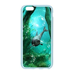 Wonderful Dolphin Apple Seamless iPhone 6 Case (Color)
