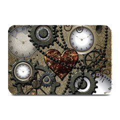 Steampunk With Heart Plate Mats