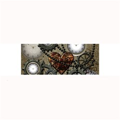 Steampunk With Heart Large Bar Mats