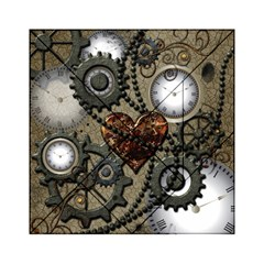 Steampunk With Heart Acrylic Tangram Puzzle (6  x 6 )
