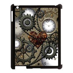 Steampunk With Heart Apple Ipad 3/4 Case (black)