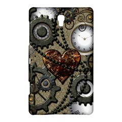 Steampunk With Heart Samsung Galaxy Tab S (8 4 ) Hardshell Case