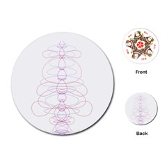 Symmetric Playing Cards (round)