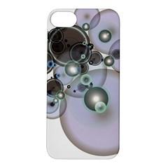 Blue Flare Apple iPhone 5S Hardshell Case