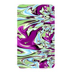 Purple, Green, and Blue Abstract Memory Card Reader