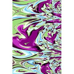 Purple, Green, and Blue Abstract 5.5  x 8.5  Notebooks