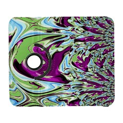 Purple, Green, and Blue Abstract Samsung Galaxy S  III Flip 360 Case