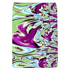 Purple, Green, and Blue Abstract Flap Covers (L)