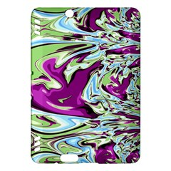 Purple, Green, and Blue Abstract Kindle Fire HDX Hardshell Case