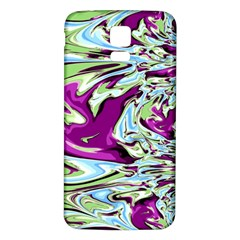 Purple, Green, And Blue Abstract Samsung Galaxy S5 Back Case (white)