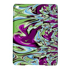 Purple, Green, and Blue Abstract iPad Air 2 Hardshell Cases