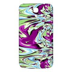 Purple, Green, and Blue Abstract Samsung Galaxy Mega I9200 Hardshell Back Case