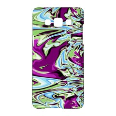 Purple, Green, and Blue Abstract Samsung Galaxy A5 Hardshell Case