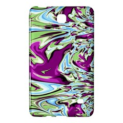 Purple, Green, and Blue Abstract Samsung Galaxy Tab 4 (7 ) Hardshell Case