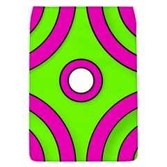 Neon Green Black Pink Abstract  Flap Covers (s)
