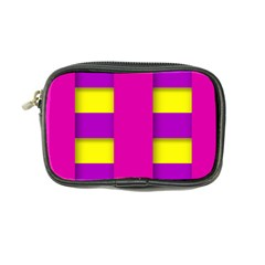 Florescent Pink Purple Abstract  Coin Purse
