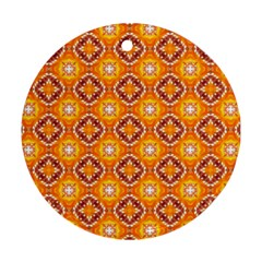 Cute Pattern Gifts Ornament (round)