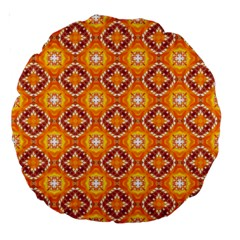 Cute Pattern Gifts Large 18  Premium Round Cushions
