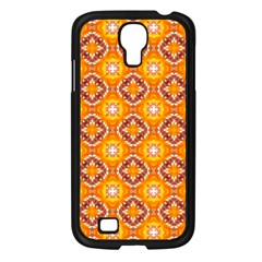 Cute Pattern Gifts Samsung Galaxy S4 I9500/ I9505 Case (Black)