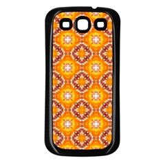 Cute Pattern Gifts Samsung Galaxy S3 Back Case (Black)