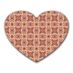 Cute Pattern Gifts Heart Mousepads