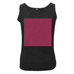 Cute Pattern Gifts Women s Black Tank Tops