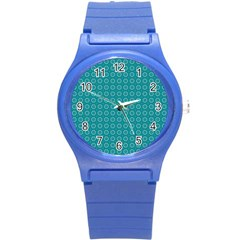 Cute Pattern Gifts Round Plastic Sport Watch (S)