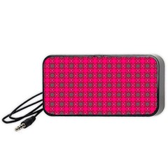 Cute Pattern Gifts Portable Speaker (Black)