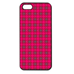 Cute Pattern Gifts Apple iPhone 5 Seamless Case (Black)