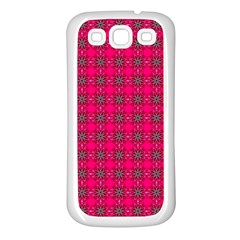 Cute Pattern Gifts Samsung Galaxy S3 Back Case (White)
