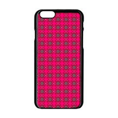 Cute Pattern Gifts Apple Iphone 6 Black Enamel Case