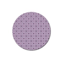 Cute Pattern Gifts Magnet 3  (Round)