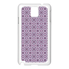 Cute Pattern Gifts Samsung Galaxy Note 3 N9005 Case (White)