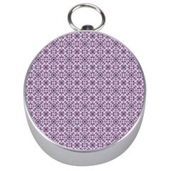 Cute Pattern Gifts Silver Compasses