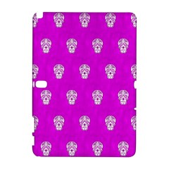 Skull Pattern Hot Pink Samsung Galaxy Note 10.1 (P600) Hardshell Case