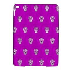 Skull Pattern Hot Pink Ipad Air 2 Hardshell Cases