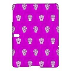 Skull Pattern Hot Pink Samsung Galaxy Tab S (10 5 ) Hardshell Case
