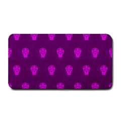 Skull Pattern Purple Medium Bar Mats