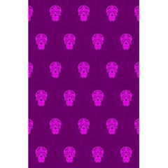 Skull Pattern Purple 5.5  x 8.5  Notebooks