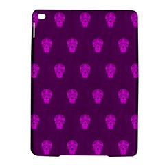 Skull Pattern Purple Ipad Air 2 Hardshell Cases